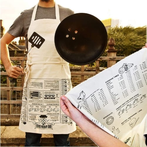 apron cooking guide gift ideas for cooking, bbq from iwantthisandthat2.com
