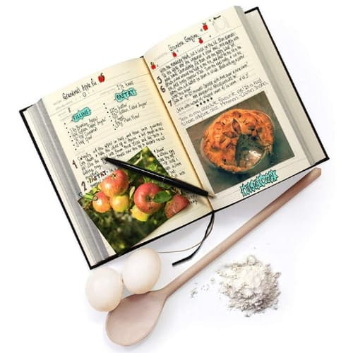 Family Recipe Cooking Book gifts ideas mothers for her christmas gifts iwantthisandthat2